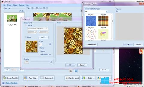 Skjermbilde CollageIt Windows 8