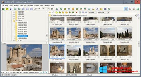 Skjermbilde FastStone Image Viewer Windows 8