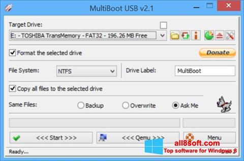 Skjermbilde Multi Boot USB Windows 8