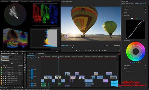 Skjermbilde Adobe Premiere Pro Windows 8