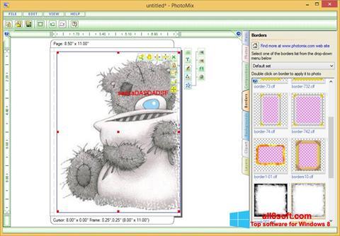 Skjermbilde PhotoMix Collage Windows 8
