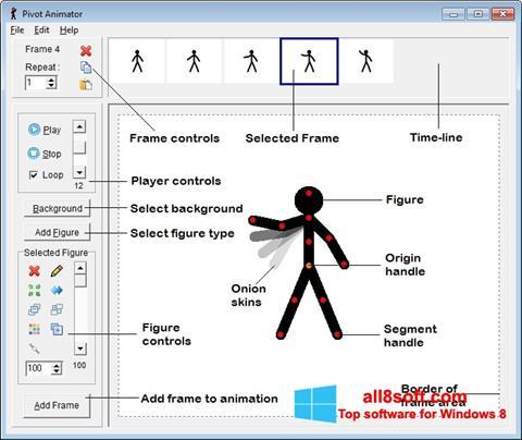 Skjermbilde Pivot Animator Windows 8