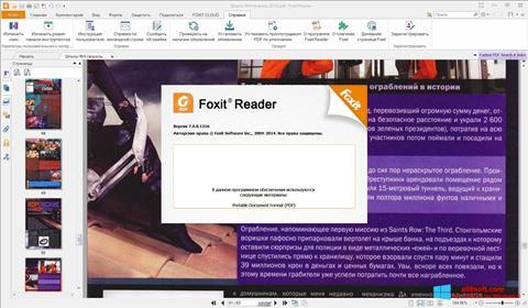 Skjermbilde Foxit Reader Windows 8