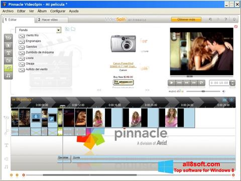 Skjermbilde Pinnacle VideoSpin Windows 8