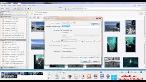 Skjermbilde Picasa Windows 8