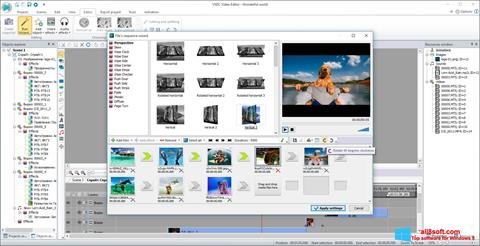 Skjermbilde Free Video Editor Windows 8