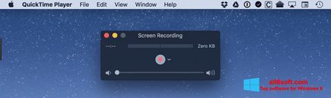 Skjermbilde QuickTime Windows 8