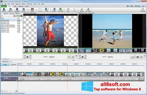Skjermbilde VideoPad Video Editor Windows 8