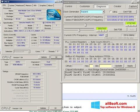 Skjermbilde SetFSB Windows 8