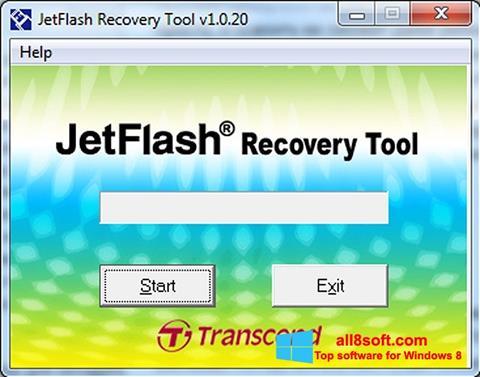 Skjermbilde JetFlash Recovery Tool Windows 8