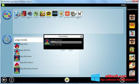 Skjermbilde BlueStacks Windows 8