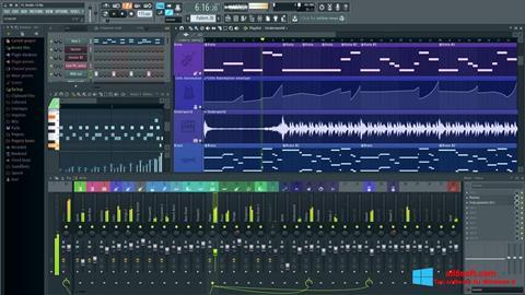 Skjermbilde FL Studio Windows 8