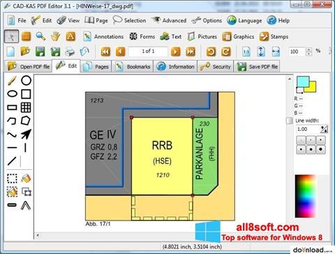 Skjermbilde PDF Reader Windows 8