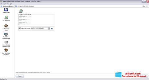 Skjermbilde BadCopy Pro Windows 8