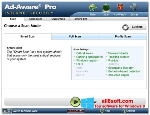 Skjermbilde Ad-Aware Windows 8